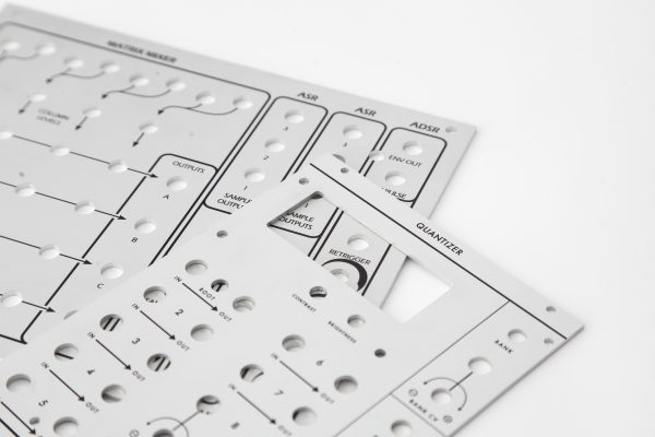 Aluminium front panels 4u modular synths