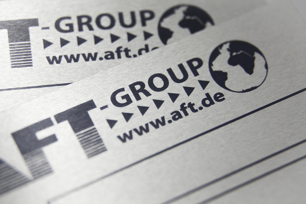 metal labels aluminium metal labels