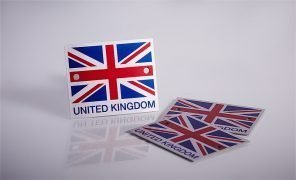 made in the uk anodised aluminium labels